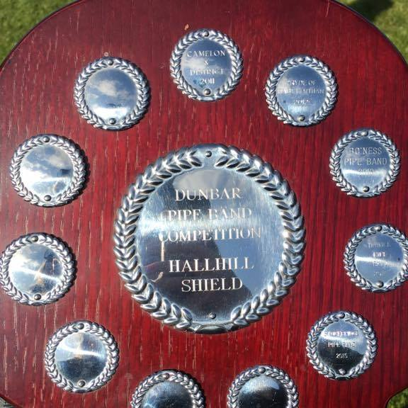 Hallhill Shield - awarded for 3rd place in Grade 4 march contest