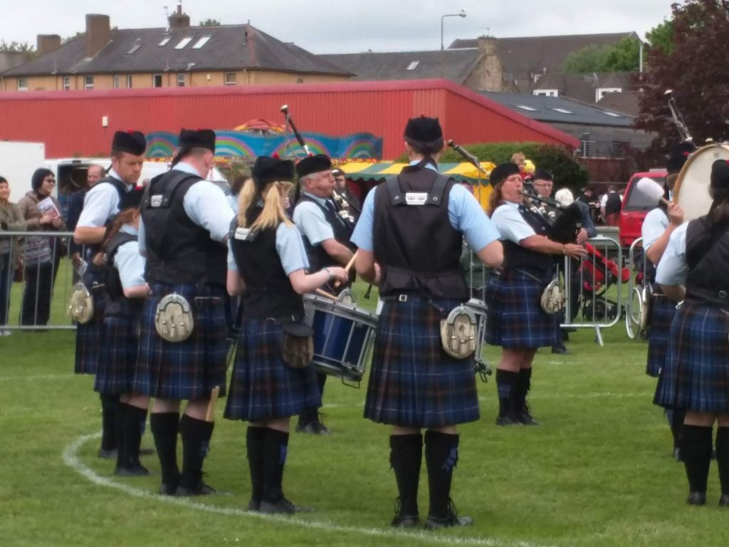 Tweedvale PB in the Circle at Bathgate - Grade 4 March Contest