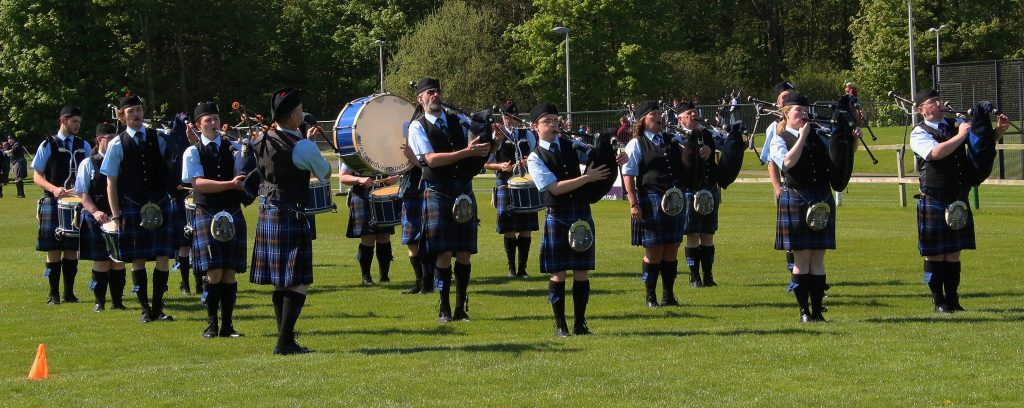 Tweedvale PB preparing to play in competition Dunbar 2016