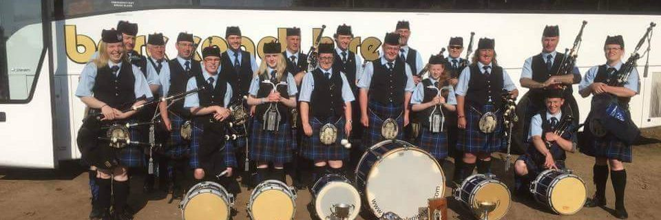 Innerleithen / Tweedvale Pipe Band